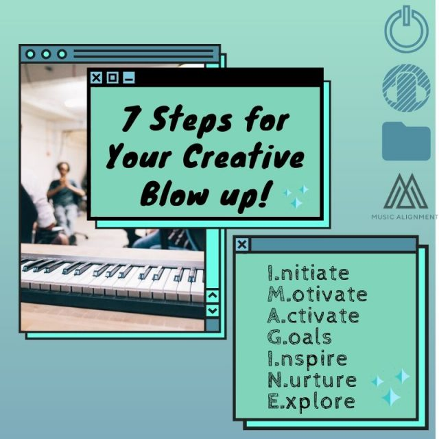 7 Steps To Make Your Creativity Explode